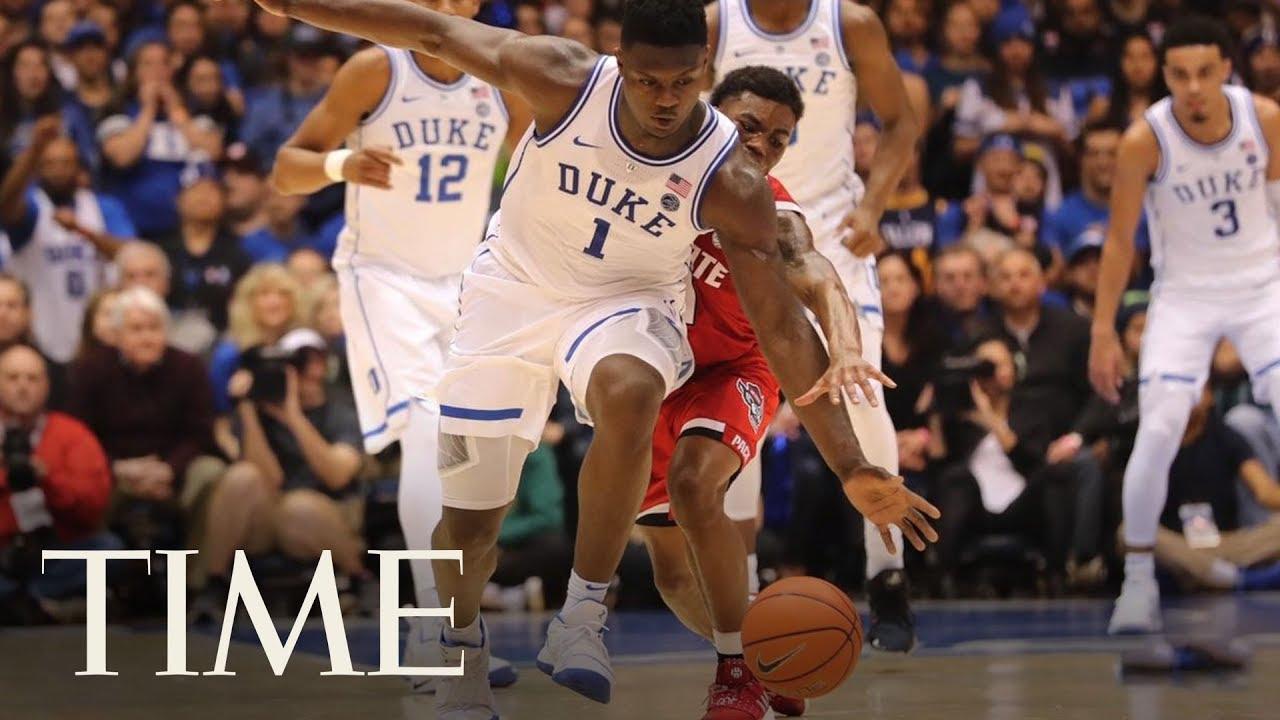 Nike Stock Falls 1.7% After Duke Star's Exploding Shoe Injury   TIME