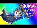 Human Fall Flat Funny Moments - The Incredible Climbing Circus!