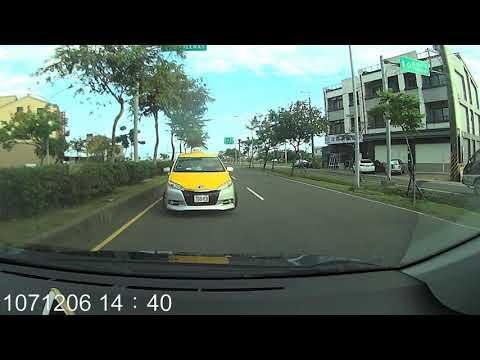 1071宜蘭市縣民大道二段計程車逆向行駛還好沒發生車禍