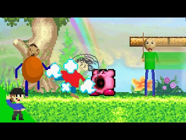 Baldi and Friends vs Kirby