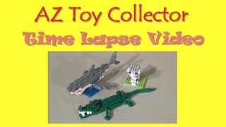 Nanoblock Crocodile Build – Cool Time Lapse | Az Toy Collector