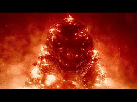 Годзиллу оживляют ядерным взрывом | Сцена из фильма Годзилла король монстров