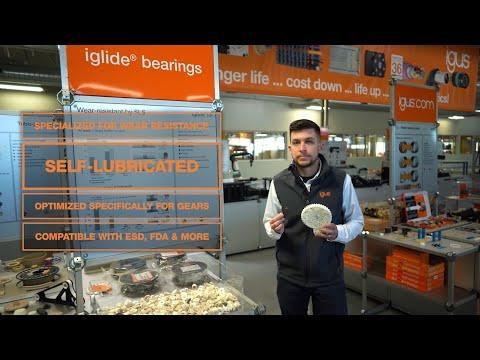 igus® - iglide® 3d SLS Printed Parts - Variety