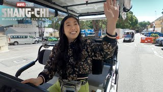 Awkwafina's Golf Cart Tour   Marvel Studios' Shang-Chi and The Legend of The Ten Rings