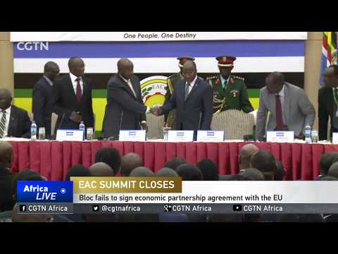 EAC fails to sign economic partnership agreement with the EU