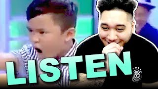 "Tawag Ng Tanghalan Kids Perform ""Listen"" on GGV (Mackie, Francis, and Keifer) REACTION!!!"