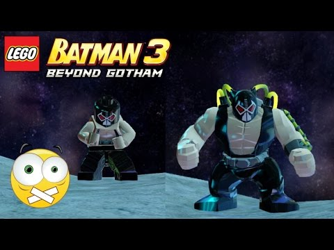 LEGO Batman 3 Beyond Gotham - Personagens: Bane - Sem ...