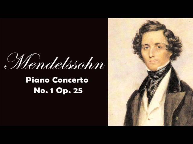 Mendelssohn: Piano Concerto No. 1 Op. 25 | Classical Music