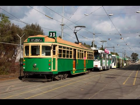 The Melbourne Tram Fleet - A Simple Guide as of July 2015