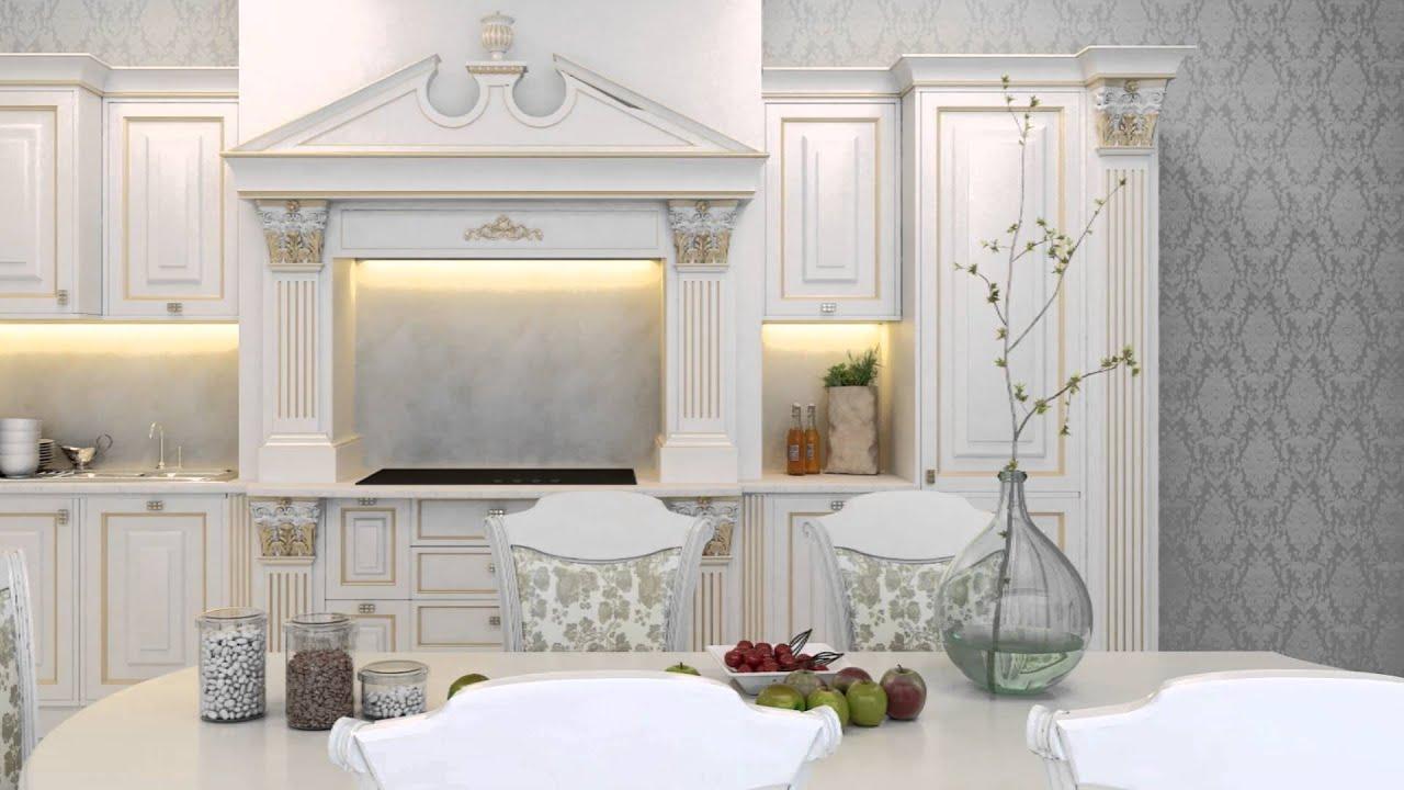Luxury classic kitchen interior design archcity az