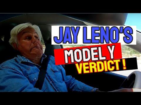 Tesla Model Y – JAY LENO'S VERDICT [Keeping his Model S]
