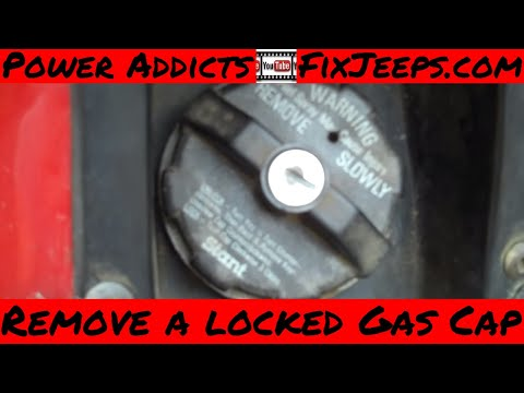 Nissan Armada Interior Pictures - How to remove YOUR locking gas cap if you lost or broke your key