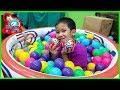 น้องบีม | รีวิวของเล่น EP141 | 5 เซอร์ไพรส์ในบ่อบอลสระน้ำเป่าลม Toys