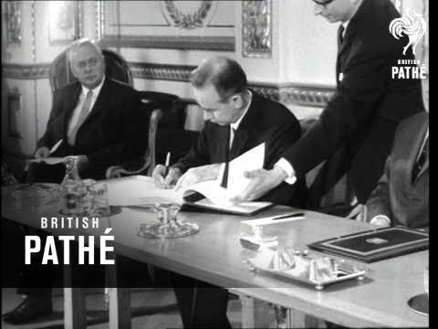 Non-Proliferation Treaty Signed (1968)
