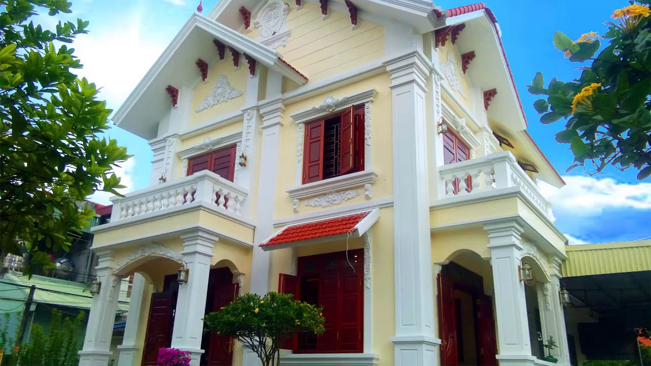 Mẫu Nhà 2 Tầng Mái Thái Đẹp Đang Được Ưa Chuộng Nhất Hiện Nay