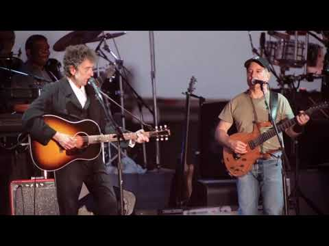 Bob Dylan - Don't Think Twice, It's All Right (Paul Simon Tour 1999)