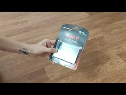 "Kingston SSD HyperX Fury 3D 120GB 2.5"" SATAIII TLC (KC-S44120-6F)"