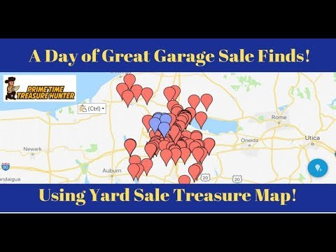 A Day of Great Garage Sale Finds Using Yard Sale Treasure Map! Yardsale Treasure Map on church treasure map, yard sale treasure finds, camping treasure map, snow treasure map, diy treasure map, yard sale treasure hunters, art treasure map, house treasure map, vintage treasure map, yard slae, yard sale treasure hunt,