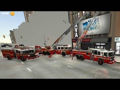 EmergeNYC Tech Demo |Role Playing An Automatic Fire Alarm, Report Of Fire & EMS Run At The Same Time
