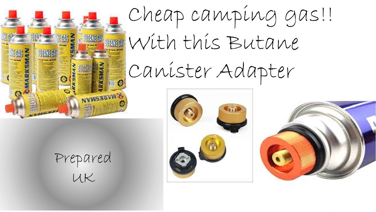 Canister Suitable for Portable Stove Marksman Butane Gas Cartridge