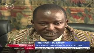 KTN Newsdesk Full Bulletin 17th November 2015