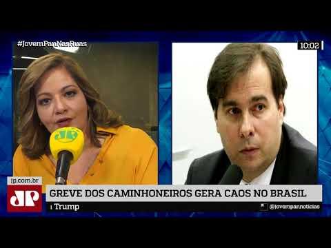 Presidente Da Câmara Rodrigo Maia Critica Congelamento Do Diesel E Defende Redução De Impostos