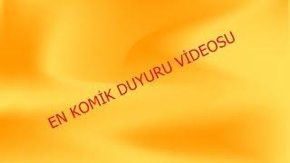 EN KOMİK DUYUR VİDEOSU