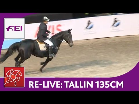 Re-Live | Day 2: Tallinn International Horse Show | Class 135 cm | presented by Eesti Meedia