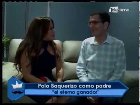 Polo Baquerizo como padre el eterno ganador