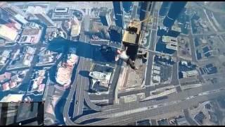 تصوير من لعبه سقوط نن طائرة هيليكوبتر