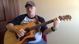 �������� ���� 2266 -  Strangers In The Night -  Frank Sinatra cover -  Vocal -  Acoustic guitar & chords ������