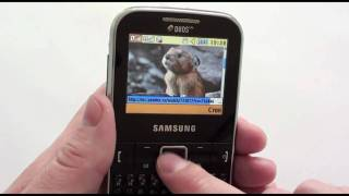 Samsung C3222 - видео обзор samsung c3222 ( c3222 ) от Video-shoper.ru