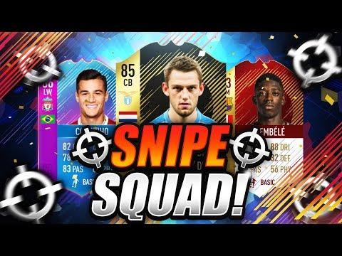 FIFA 18  THE RETURN OF SNIPE SQUAD 🔥 SQUAD BUILDER BATTLE vs CAPGUNTOM 🐧