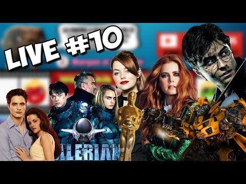 LIVE #10 ON A PARLE DE BEAUCOUP DE CHOSES ! OSCAR, TRANSFORMERS, TWILIGHT, LUC BESSON...