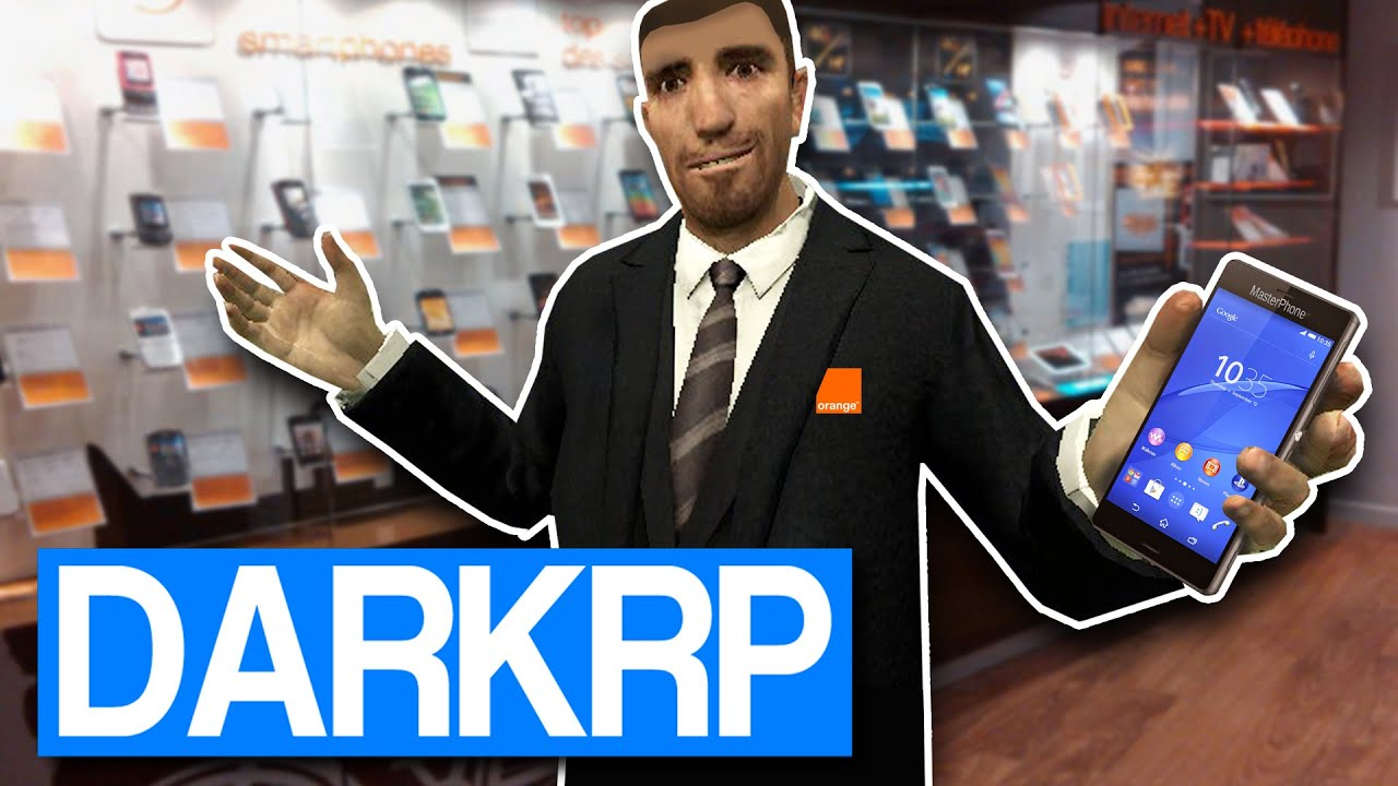 Garry S Mod Darkrp J Ai Un Telephone Portable Fr Youtube