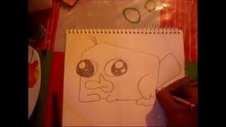dibujo acelerado o1 perry bebe