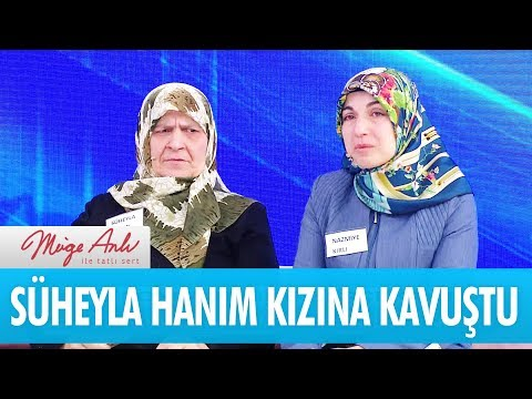 Süheyla Hanım kızına kavuştu - Müge Anlı İle Tatlı Sert 16 Ekim 2018