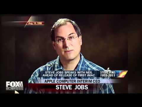 steve jobs  rare fox interview with neal cavuto on fox news from 1998