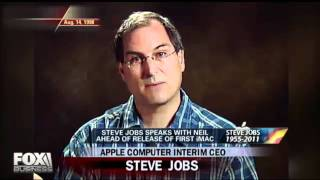steve jobs - rare fox interview with neal cavuto on fox news from 1998