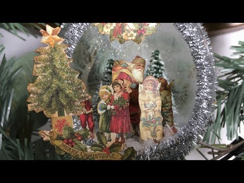 Vintage Ornament - Christmas in July Collaboration hosted by Daveda Lane 2018