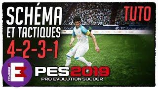 PES 2019 TUTO FORMATION 4-2-3-1 ET LES ENTRAINEURS MYCLUB