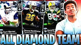 ALL DIAMOND TEAM! THIS TEAM COSTS TOO MANY COINS.. Madden 20 Ultimate Team