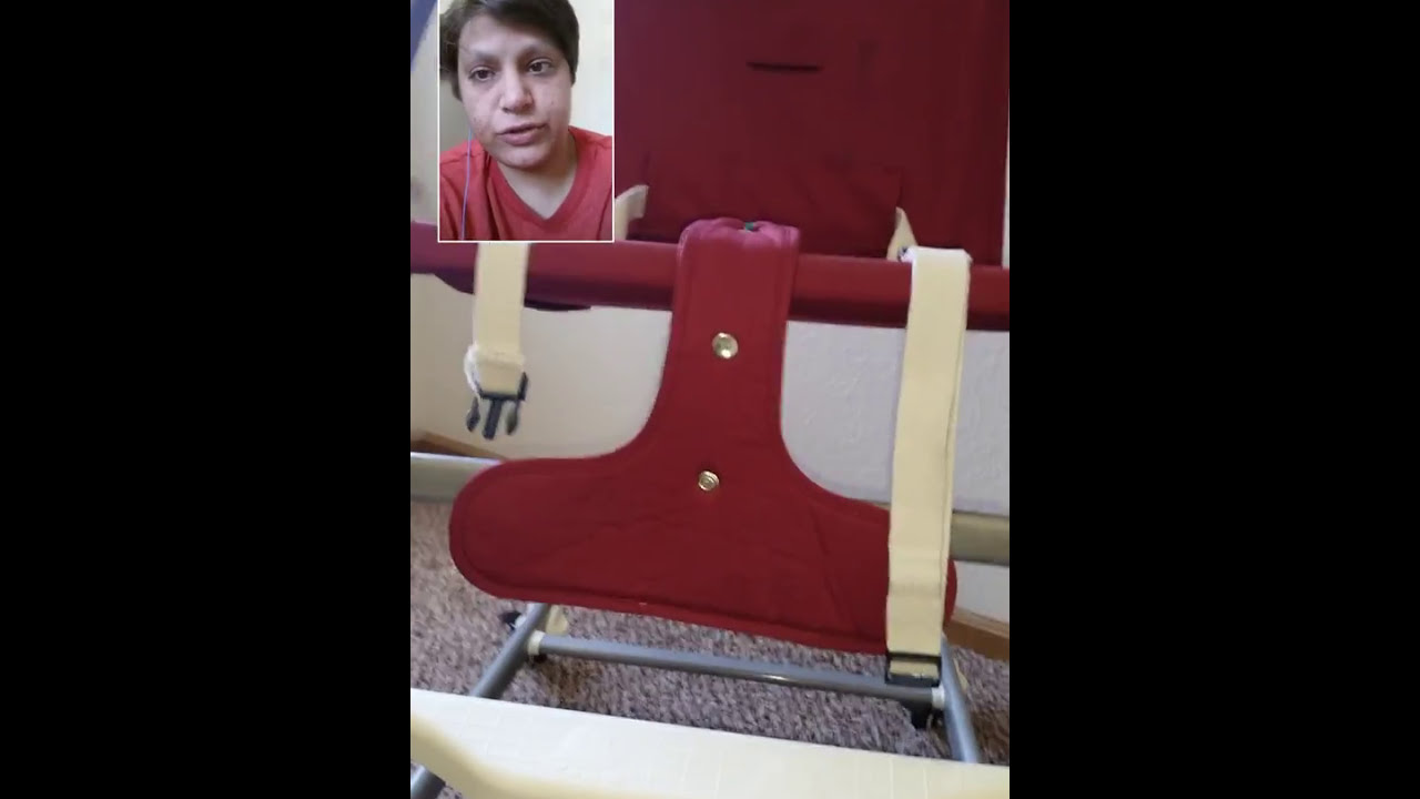 adult baby high chair metal desk review youtube