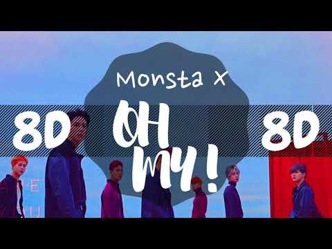 [8D AUDIO] MONSTA X (몬스타엑스) - OH MY! [USE HEADPHONES 🎧]   MONSTA X   8D