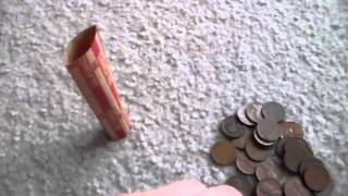 How to properly roll pennies