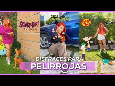 DISFRACES FÁCILES Y RÁPIDOS PARA PELIRROJAS / Especial halloween /  Jhoee