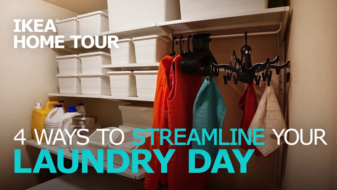 Smart Laundry Room Ideas Ikea Home Tour Youtube