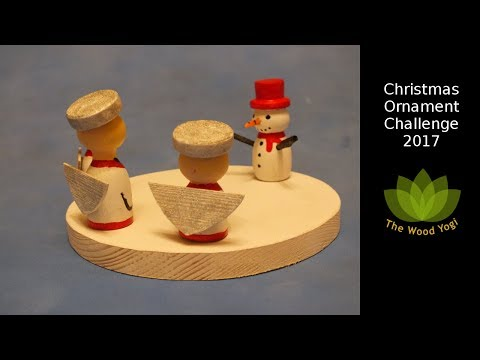 Christmas Ornament Challenge 2017   - Woodworking   - Woodturning
