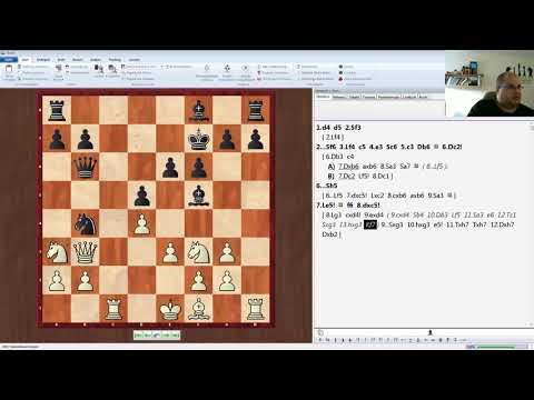 Teil 1 -  Die neue Waffe gegen 5...Db6 6.Dc2! Sh5