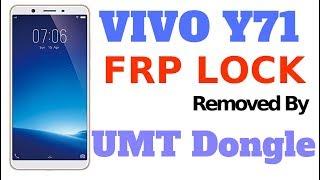 Vivo Y71 FRP Unlock By UMT Dongle